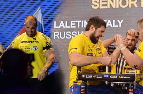 Vitaly Laletin will replace Denis Tsyplenkov in the Top-8 # Armwrestling # Armpower.net