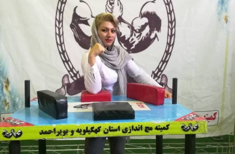 Fatemeh Raisi: I've decided to be good armwrestler in Iran # Armwrestling # Armpower.net