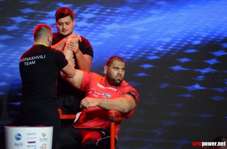 In childhood I wanted to be a footballer, - Levan Saginashvili # Armwrestling # Armpower.net