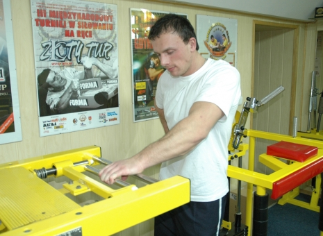 LUBOMIR JAGNESAK – BASIC TRAINING # Armwrestling # Armpower.net
