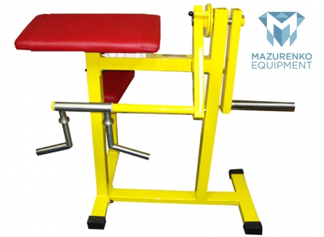 Train with Mazurenko equipment - MECHANIC PREACHER BENCH  # Armwrestling # Armpower.net