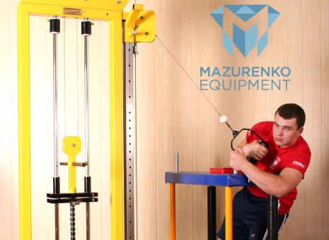 Train with Mazurenko equipment - REGULATED LIFT # Armwrestling # Armpower.net