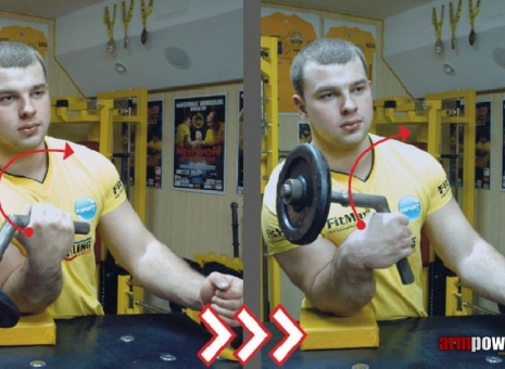 Specialized armwrestling exercises – the way to success! # Armwrestling # Armpower.net