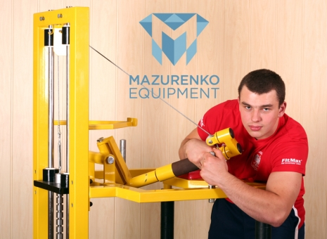 Train with Mazurenko equipment - Mazurenko Machine.  # Armwrestling # Armpower.net