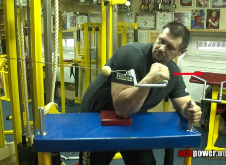 IGOR MAZURENKO - TRAINING FOR THE BEGINNERS # 2 # Armwrestling # Armpower.net
