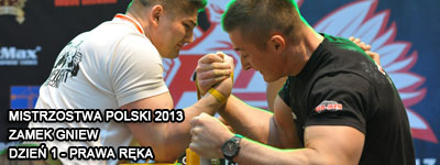 Mistrzostwa Polski 2013 - Gniew - Right Hand