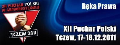 XII Puchar Polski w Armwrestlingu - Ręka prawa