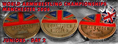 World Armwrestling Championships 2006 - Day 2