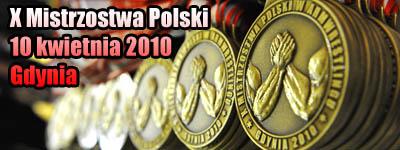 X Mistrzostwa Polski - Gdynia 2010