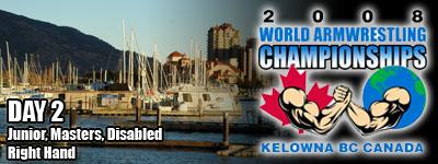 Worlds 2008 - Day 2