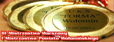 III Mistrzostwa Warszawy / I Mistrzostwa Powiatu Wo³omiñskiego