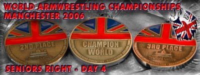 World Armwrestling Championships 2006 - Day 4
