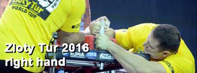 Zloty Tur 2016 - right hand
