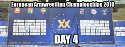 European Armwrestling Championships - Day 4