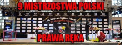 Mistrzostwa Polski 2009 - Prawa ręka