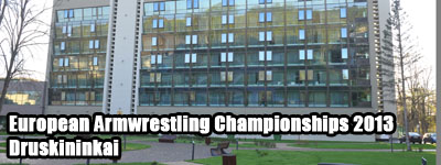European Armwrestling Championships 2013 - City View